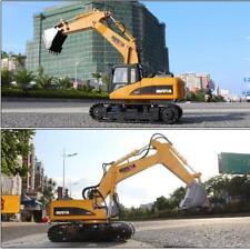 HUINA1550 1:14 Remote Control Excavator Toy Tractor Bulldozer Metal Digger ❤HP