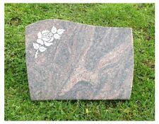 Grabsteine, Liegestein,Rasenstein alles ist inkl. 40x30x3cm vom Steinmetz