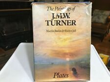 The Paintings of J.M.W.Turner Plates By Martin Butlin & Evely Joll 1977