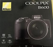 Nikon Coolpix B600 Camera - Black 16 MP 60x Zoom WiFi Full HD PERFECT BRAND NEW!
