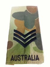 Slide - Auscam - Sergeant - Pair Army & Military Patches