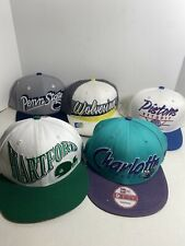 LOT OF 5 Hats - 4 SnapBack 1 Other - Sports