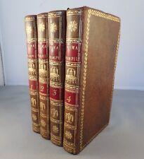 FLORIAN / NUMA POMPILIUS / 1790 LE FRANCQ (texte français anglais) GRAVURES