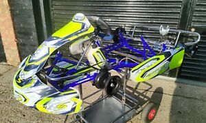 2020 Synergy Carbon Rolling Chassis, Iame Cadet, Kart, Karting