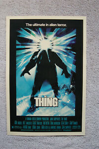 The Thing  Lobby Card Movie Poster Kurt Russell #2