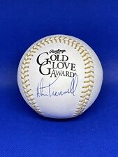 Alan Trammell Signed Autographed Rawlings Gold Glove Award Ball