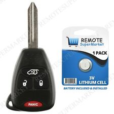 Replacement for 04-08 Chrysler Pacifica 05-07 Jeep Liberty Remote Car Key Fob