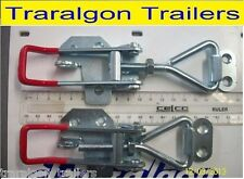 2x large overcentre over centre latch toggle fastener for trailer, toolbox  M3