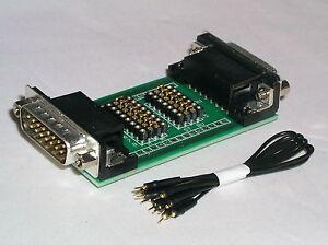 SUB D Mess und Prüf Adapter  15 polig - clever prüfen und anpassen -  230441-IC