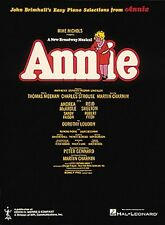 Annie Broadway Sheet Music Easy Piano Vocal Selections NEW 000383050