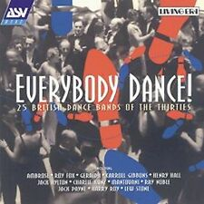 Everybody Dance: 25 BRITISH DANCE BANDS OF THE THIRTIES CD (2001)