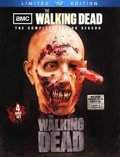 Walking Dead: Season 2 (Blu-ray Disc, 2012, 4-Disc Set, Limited Edition...