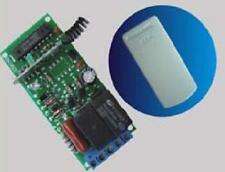 Radio ricevitore 433MHz frequenza 2 Rele 230Volt (telecomando cancelli serrande)