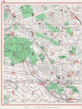 BROMLEY. Beckenham Downham Plaistow Shortlands Grove Park Plaistow 1964 map