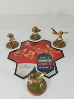 """HEROSCAPE    RISE OF THE VALKYRIE  """" MARRO WARRIORS """"  FIGURES with CARD"""