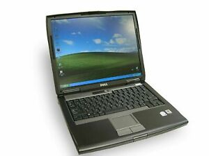 """Office laptop Dell D520 MEMORY 320GB HDD 15"""" inch Windows 7 ultimate WIFI DVD"""