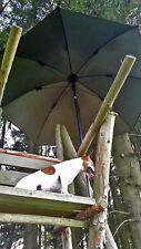 Ansitzschirm Jagdschirm Anglerschirm Regenschirm Jagd Jäger Angeln Stockschirm