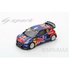 Modellini statici di auto da corsa Spark Scala 1:43 per Peugeot