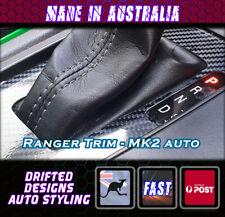Carbon Shift Trim sticker Fit ford Ranger MK2 Auto - Carbon Finish Gloss