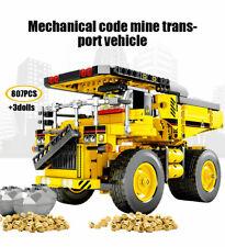 807 Pcs. Sembo Dump Truck Building Blocks Bricks Construction Toy Gift