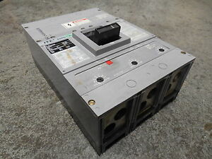 USED ITE HLD63F600 Sentron Series Circuit Breaker 600A Frame 350A Trip