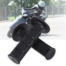 """22mm 7/8"""" Rubber Hand Grips Handlebar For Harley Motorcycle ATV Dirt Bike"""