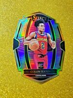 2018-19 Panini Select COLLIN SEXTON Purple Die Cut Prizm RC /99 - Rookie Gem 172