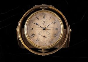 Parkinson & Frodsham 2 day, small marine chronometer circa 1850, no reserve!