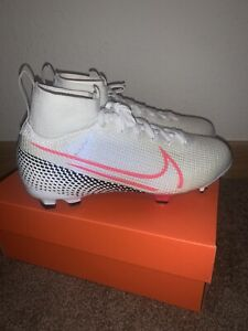 Nike Mercurial Jr Superfly 7 Elite FG Soccer Cleat AT8034-160 Size 5Y MSRP $175