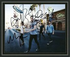 Imagine Dragons - ENTIRE GROUP - A4 SIGNED AUTOGRAPHED PHOTO POSTER  FREE POST