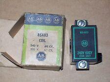 NIB ALLEN BRADLEY RELAY 240V COIL P/N 85A83 M934