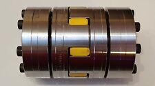Wellenkupplung (06) Rotex  KTR Klauenkupplung GS 38/45 Spannringnabe Stahl 22/22