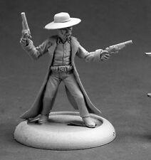 Deadeye Slim Cowboy Reaper Miniatures Chronoscope Gunslinger Outlaw Old West