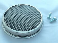 "Austin Healey Stainless Steel 1.1/2"" Tri - Carb Front & Centre Air Filter."