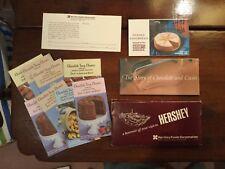 Hershey Foods Hershey, PA- 1968 souvenir Chocolate factory tour packet