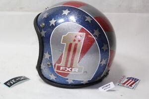 custom painted FXR #1 helmet Harley FXRT FXRD FXRP FXLR FXRS FXRC WOW!! EPS20019