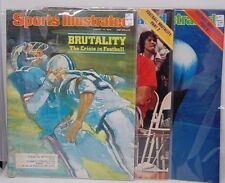 3 Part Series Football Brutality SPORTS ILLUSTRATED August 1978 Head Trauma NFL