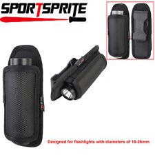Rotating flashlight holster pouch for SureFire Fenix NiteCore Pelican Inova lamp