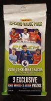 Panini Prizm 2020-21 Premier League Soccer Value Pack - Red White & Blue Prizms
