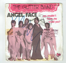 "The GLITTER BAND Vinyle 45T 7"" ANGEL FACE -YOU WOULDN'T LEAVE -BELL 2008235 RARE"