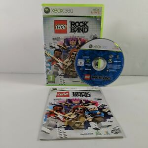 Lego Rock Band - Xbox 360 - PAL - Complete - Free P&P