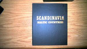SCANDANAVIAN BALTIC COUNTRIES IN MINKUS ALBUM, MINT/USED