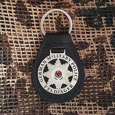 Feldjäger Leder Schlüsselanhänger # MP # Militärpolizei # Military Police #2