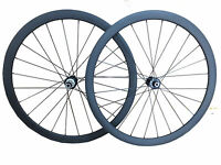 700C Disc Brake 38mm Clincher Carbon Wheels Road Bike Cyclocross Wheelset