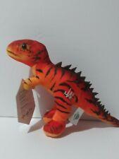 "Jurassic World Dino Hybrid 11"" Plush  Red T-rex Raptor Doll  Rare"
