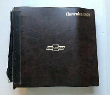 1969 CHEVROLET SALES ALBUM - OEM - DEALER ONLY