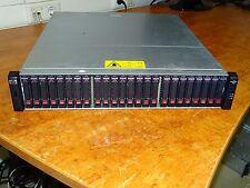 HP P2000 G3 Dual Controller FC SFF 2x AP836A  2xPSU  24x146GB SAS 15k