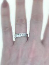 VS1 Diamond Anniversary Ring 1.00ct Baguette 18k White Gold Band