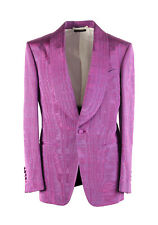 New TOM FORD Shelton Pink Tuxedo Dinner Jacket Size 46 / 36R U.S. Jacket Blazer