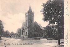 Ohio postcard Chillicothe Walnut Street M.E. Church ca 1908
